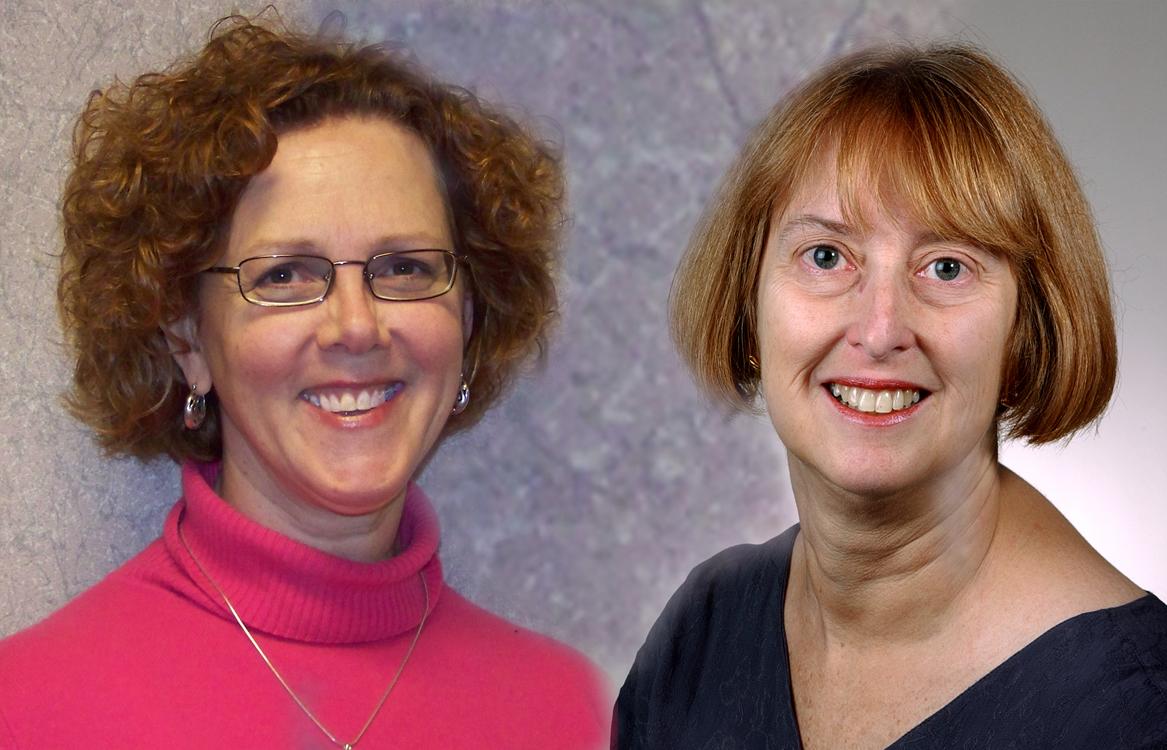NUR-Alumni-Carol_Anne_Kozik_and_Melanie_Kalman